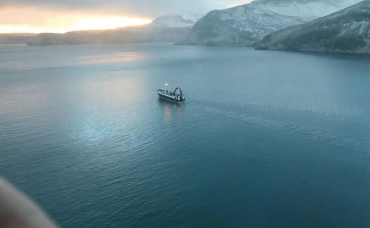 アラスカの海